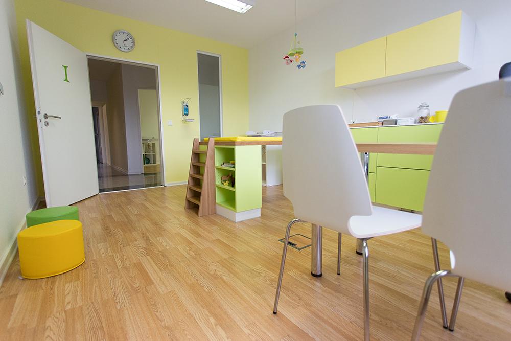 Kinderarztpraxis kleine Könige